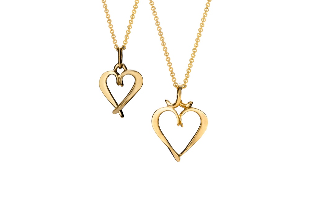 Signature heart pendants. See full collection in store starting at less than $100.