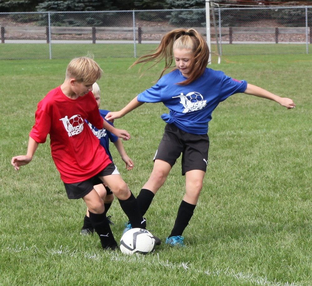 DRILLS 4 SKILLS AGES 6-15 - Drills 4 Skills program is designed to supplement the individual player in their quest to improve their technical ball skills, confidence & fitness with our unique age-specific curriculum. This program will challenge players in every technical aspect required to raise their game to the next level. Speed of execution & decision-making are also areas of focus to ensure skills are performed efficiently as well as effectively on the soccer field.