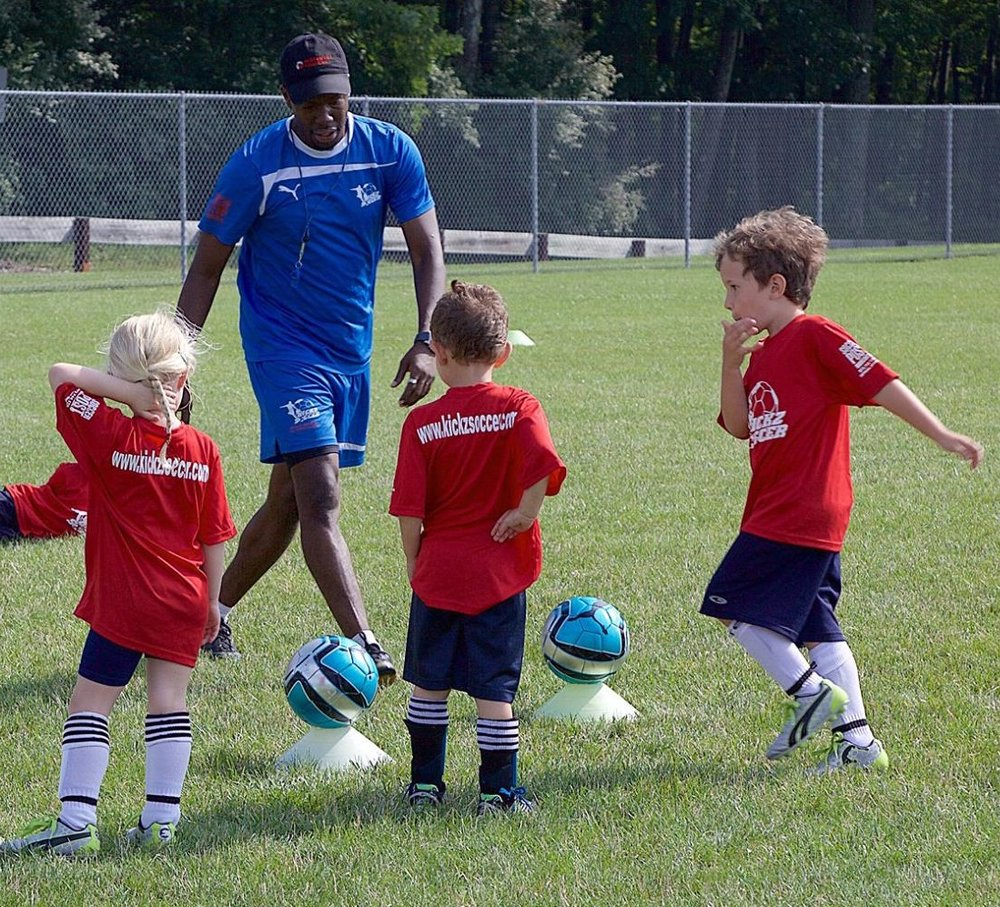 Pre-K Soccer Ages 3-5 - A FUN introduction to soccer in a safe and enjoyable environment. A unique soccer experience that combines children's general interests and hobbies with fun soccer related activities. These activities are designed to engage player into performing basic soccer skills and fundamentals, providing them an excellent introduction and head start towards their soccer careers.