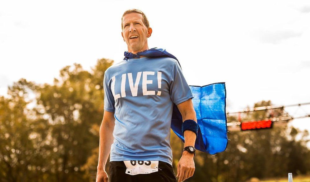 Kirk Smith Stage 3 Lung Cancer. Competing in 10k's and Triathlons