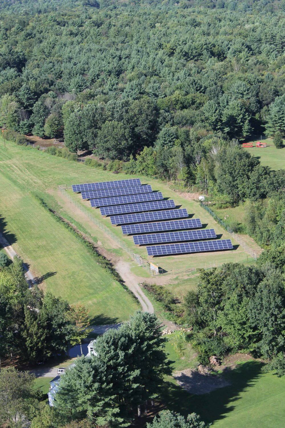 145 kW array, Green Mountain Power, Putney VT