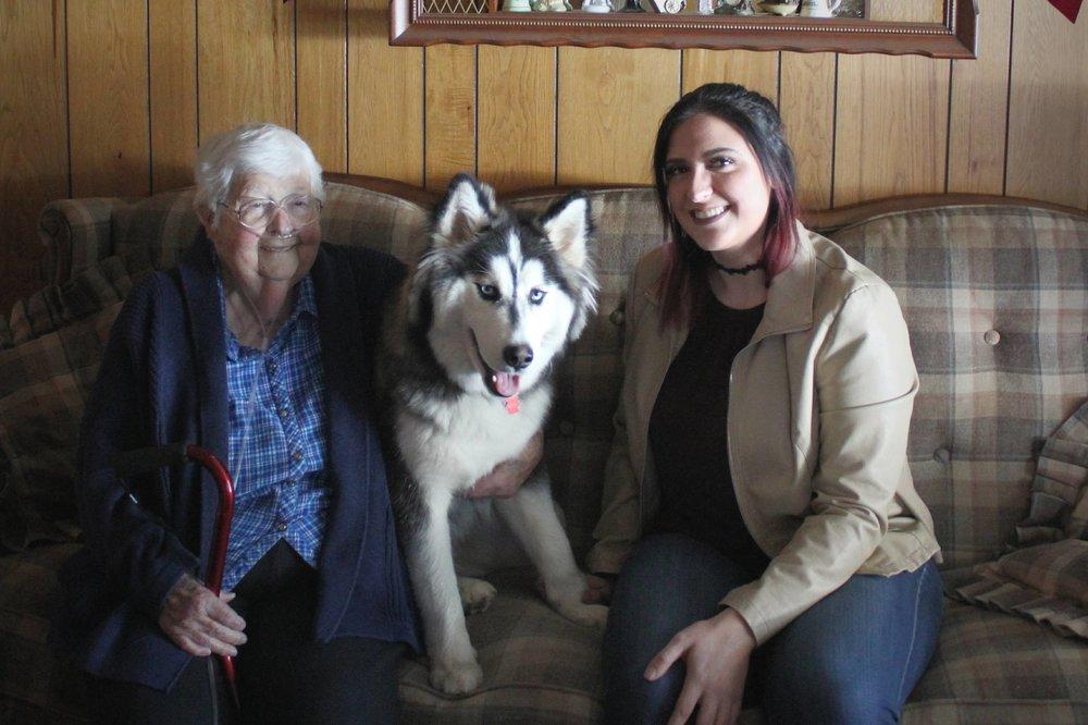 Breezy, Ozzy, And Grandma Photo-shoot