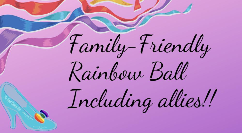 Family Friendly Rainbow Ball
