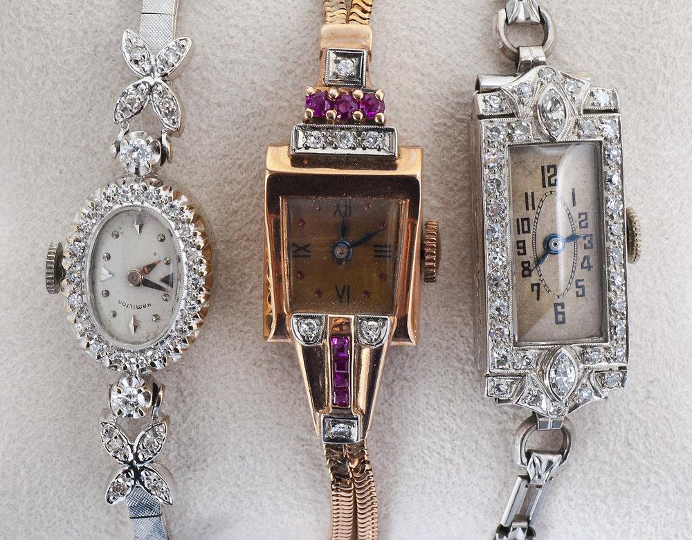 Vintage Ladies Art Deco Watch