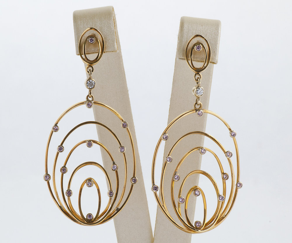 modern earrings