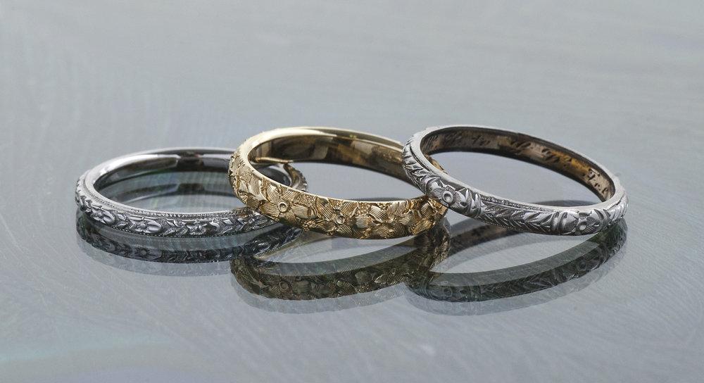 Antique Wedding Bands -