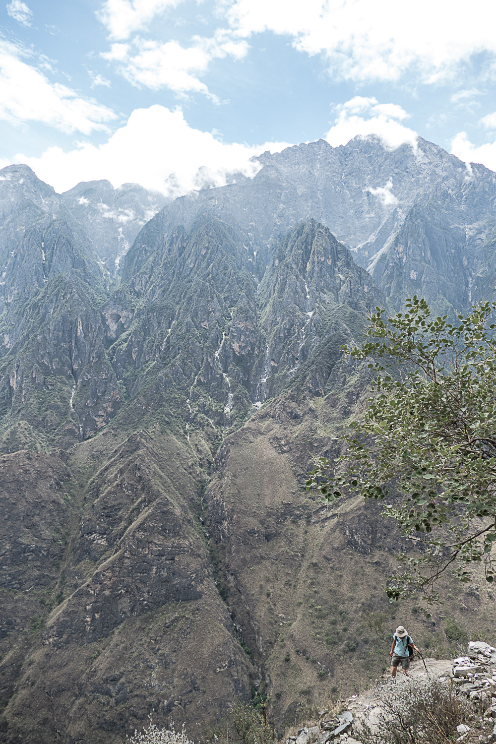 On the Tiger Leaping Gorge hike