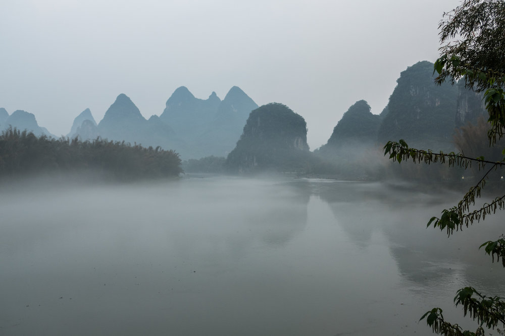 Setting for the LiuSanJie show in Yangshuo