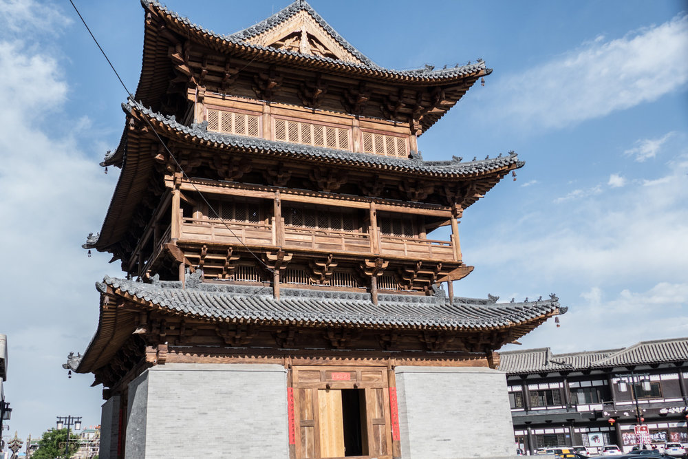 Bell tower in Datong