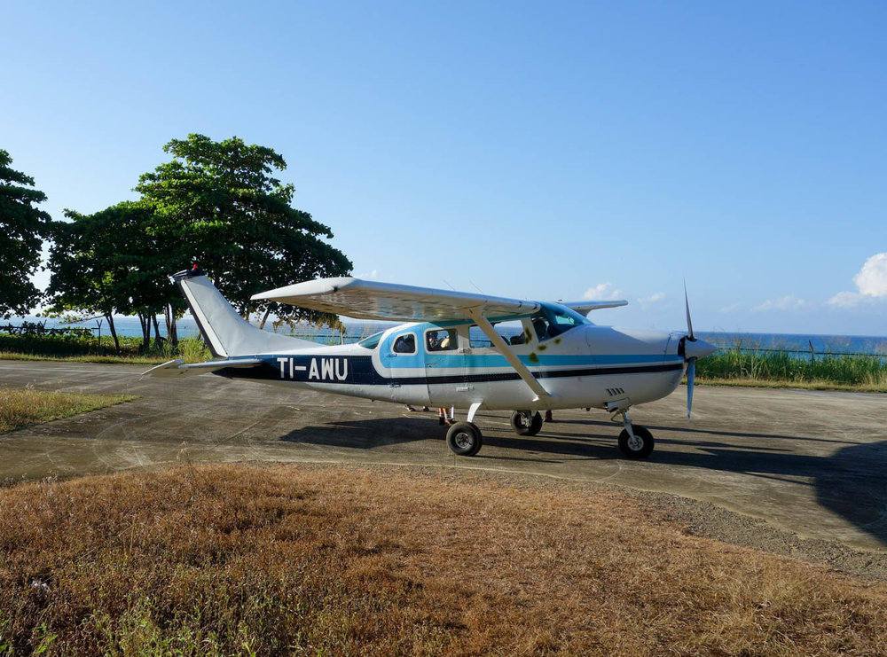Our plane to Corcovado
