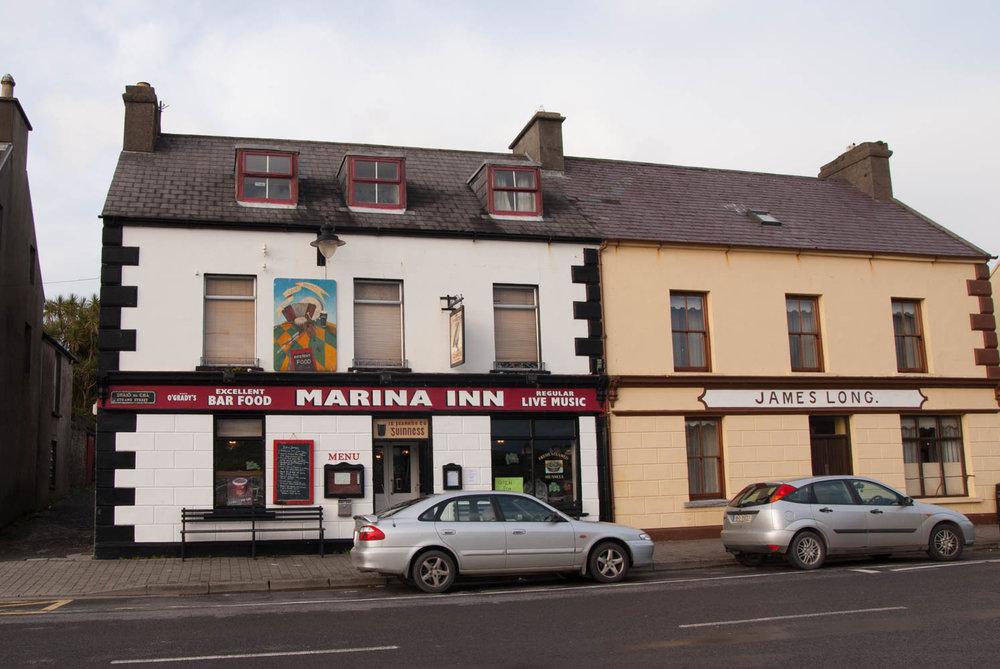 Marina Inn is a famous pub for Irish music.