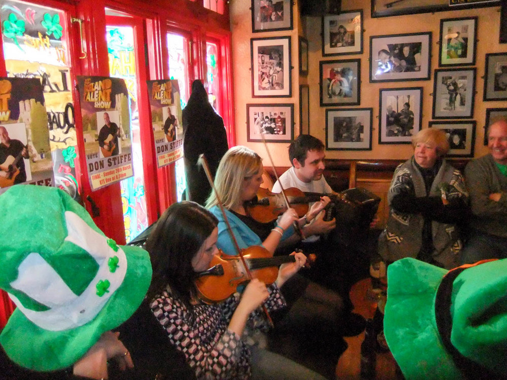 Music in Tig Coili Pub in Galway