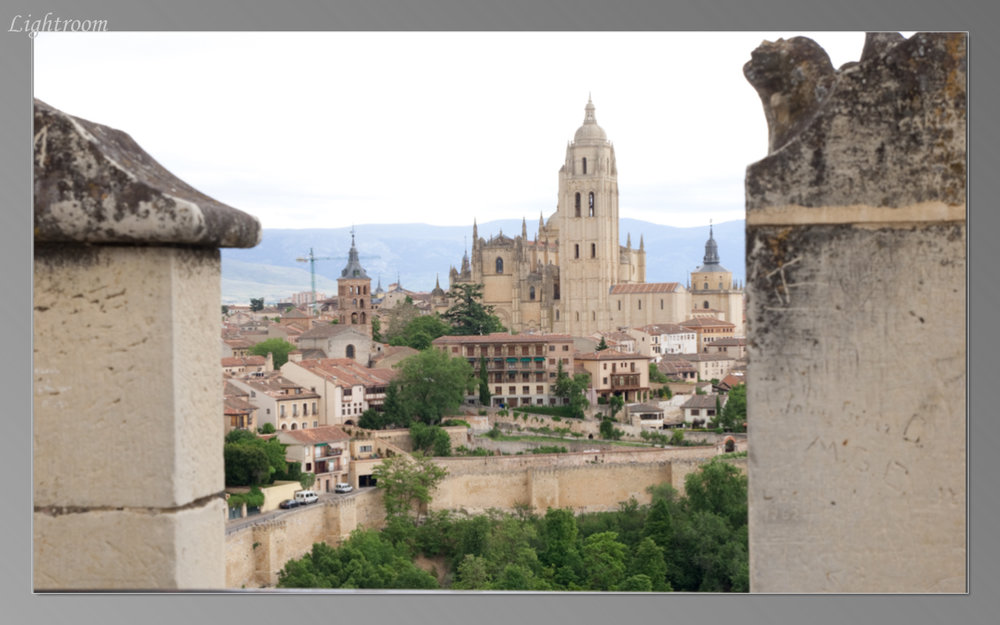 View of Segovia from the Alcazar