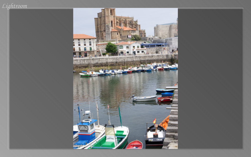 On the drive we passed the pretty harbor of Castro-Urdiales with a castle on the hill