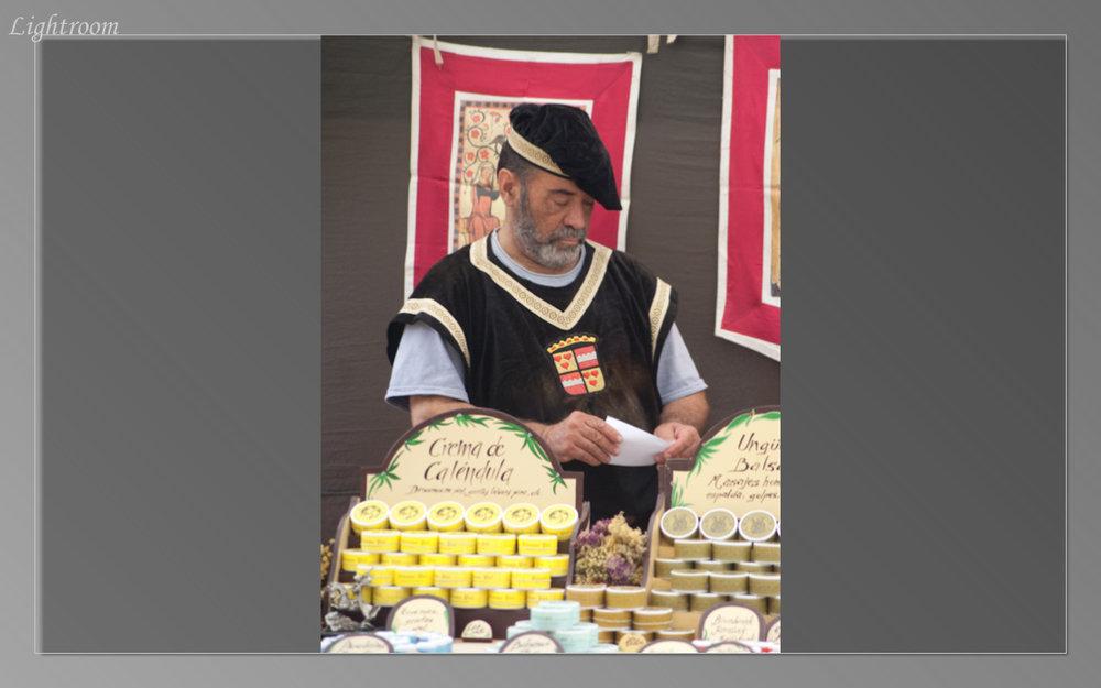 Medieval Festival participant