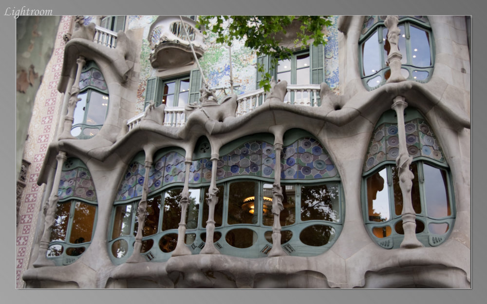 Closeup of Casa Batllo