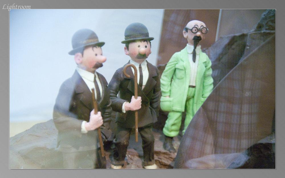 Tintin in Museo de la Xocolata