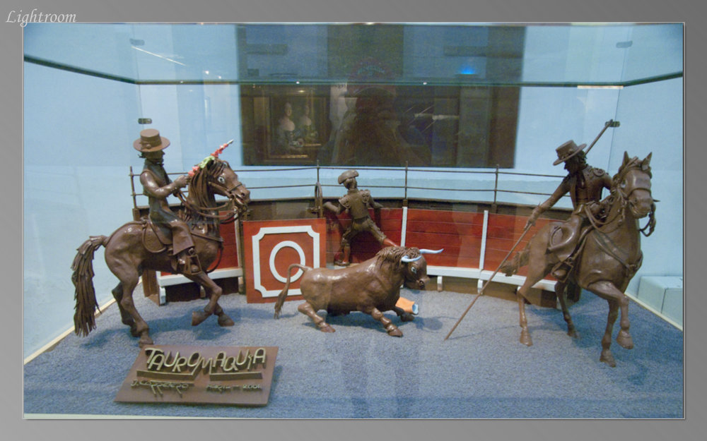 Bullfight in the Museo de la Xocolata