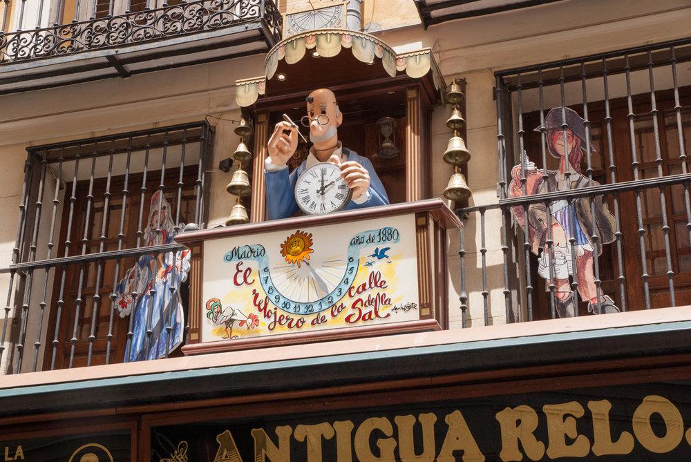 Madrid steet scene