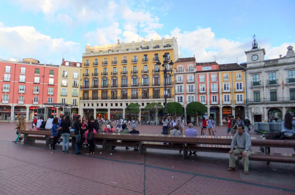 Plaza Mayor in Burgos