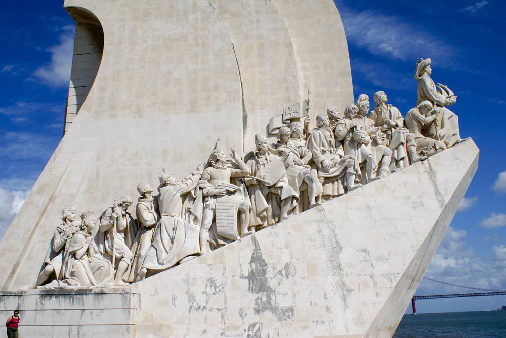 The Monument to the Discoveries in Belem