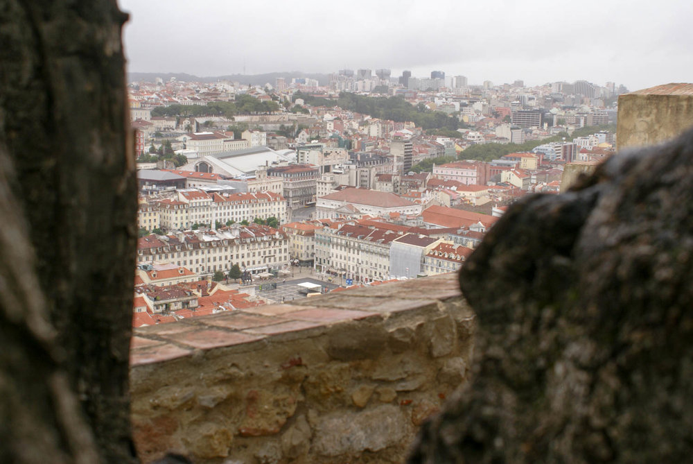 View of Lisbon from the Castle of Sao Jorge