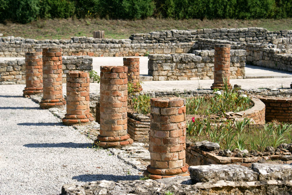 Roman ruins in Conimbriga