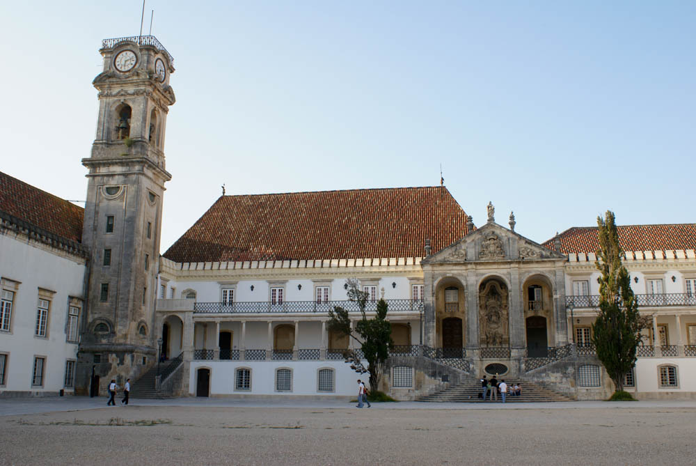 Courtyard at the University of Coimbra