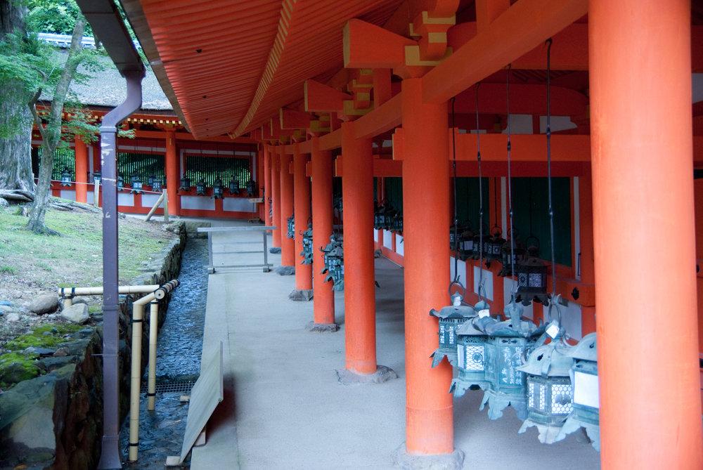 Kasuga temple and lanterns