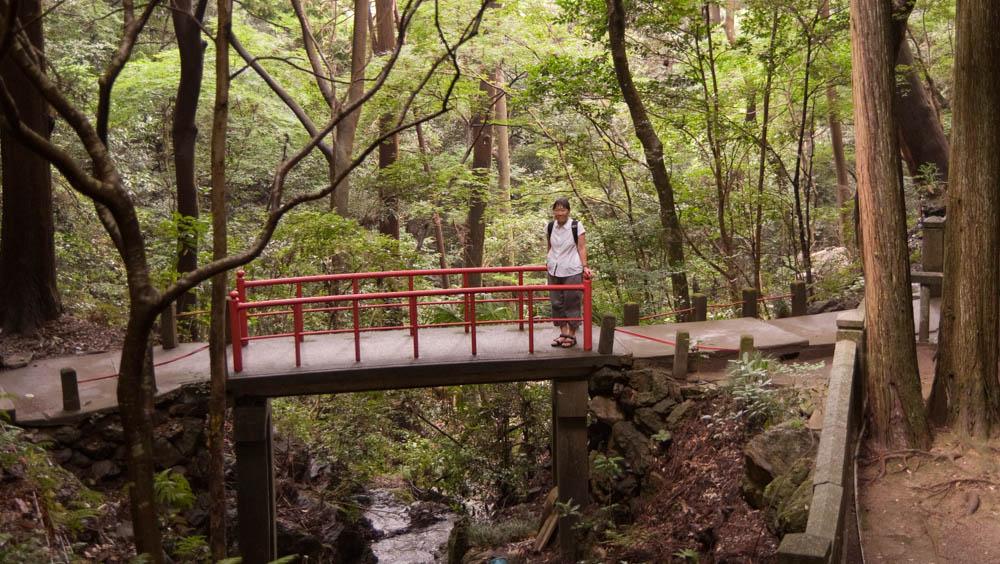 In the Nanzen-ji temple complex