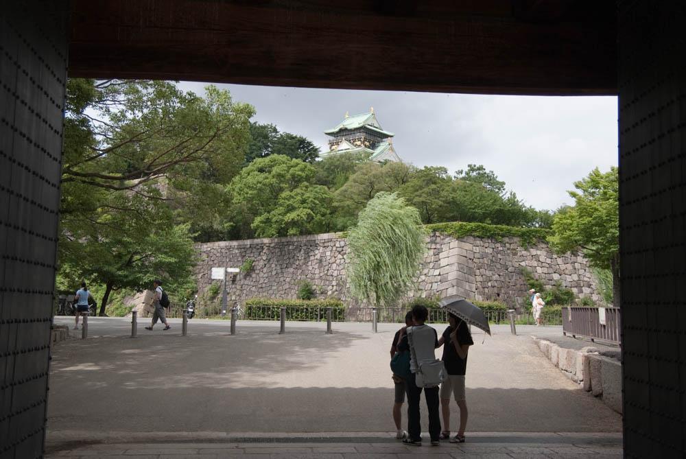 Entrance to Osaka Castle