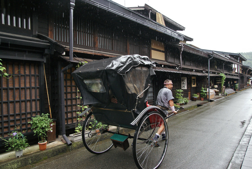 In the old town of Takayama