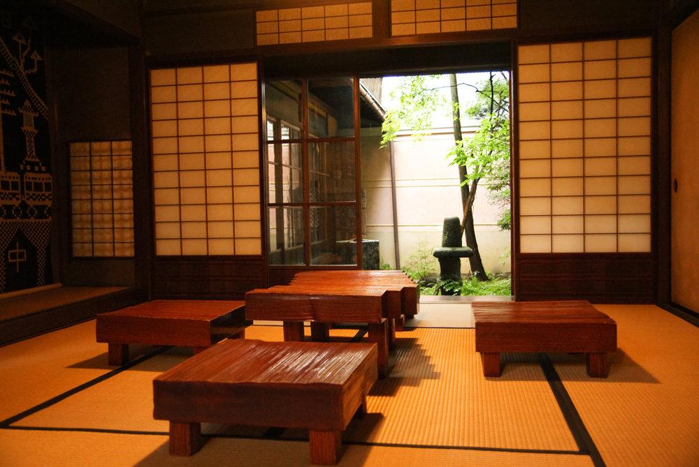 Merchant house in Kusakabe Folk Museum