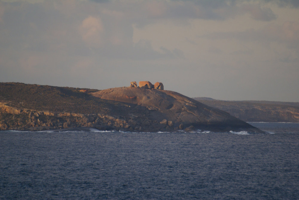 Remarkable Rocks from a distance