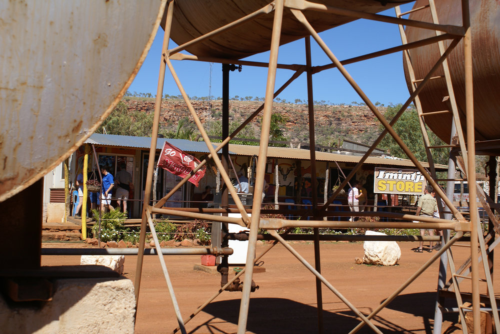 One of the few aboriginal settlements on the road
