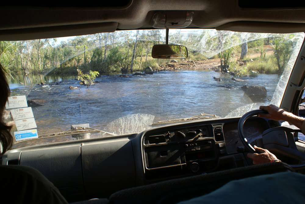 One of many river crossings