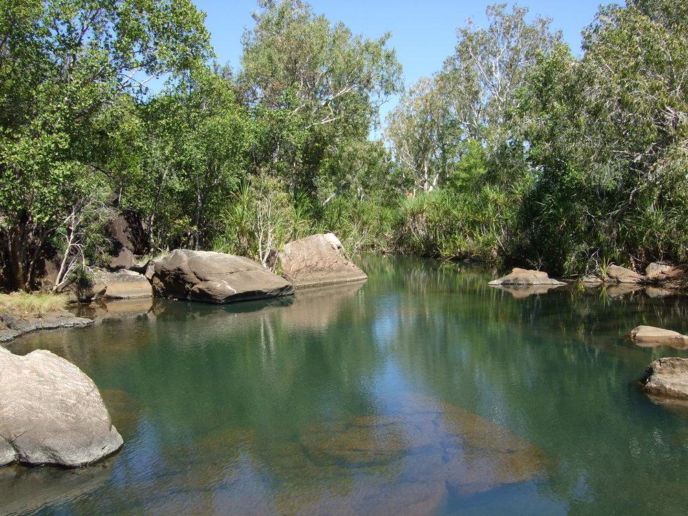 Scenic waterhole