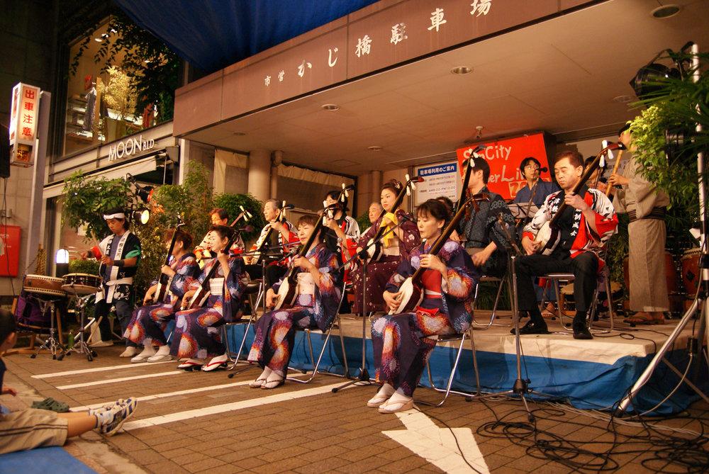 At Takayama street festival