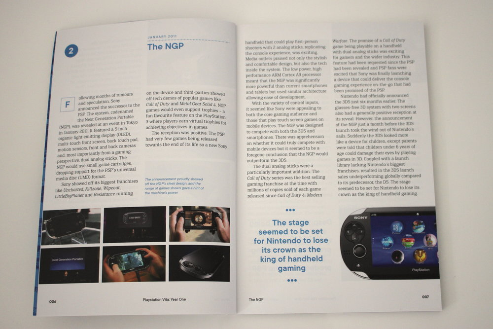 The history of the Vita's launch and first year.