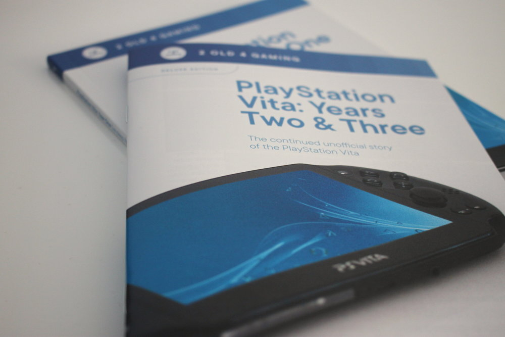 Here it is, the follow-up to my successfully kickstarted book: The PlayStation Vita: Year One. To summarise the premise, its an unofficial look back at the events of the Vita's 2nd and 3rd years on the market and retrospectives on a selection of its biggest games.