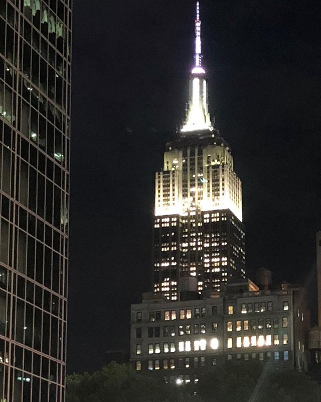 So great to be in NYC! #nyc #great #times #empirestatebuilding #magical #night #greatfriends #newfriends #wedding #magic #loveit