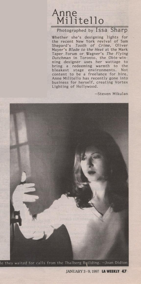 LA WEEKLY | JANUARY 3 - 9, 1997