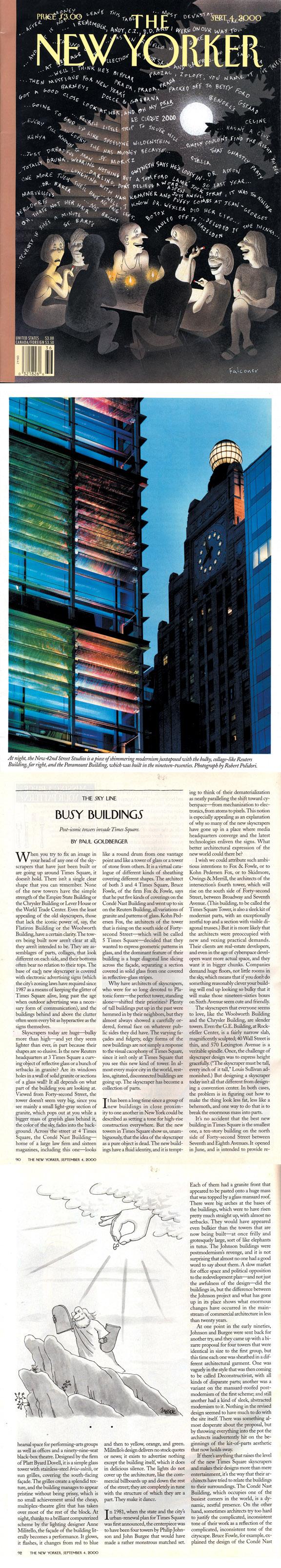 NEW YORKER | SEPTEMBER 4, 2000