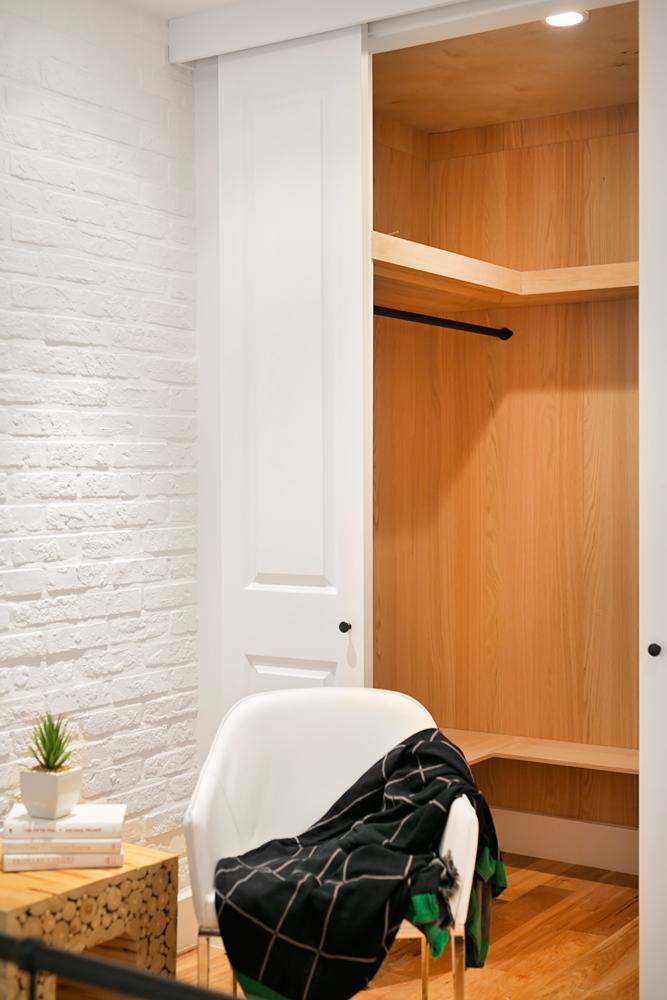 Custom-Built closet. -