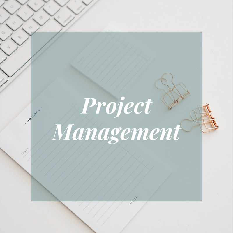 Project Management Services at Amy Simpson Consulting