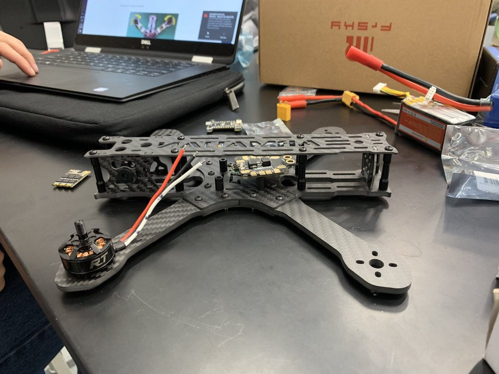 Chassis of Drone Hardware team drone.