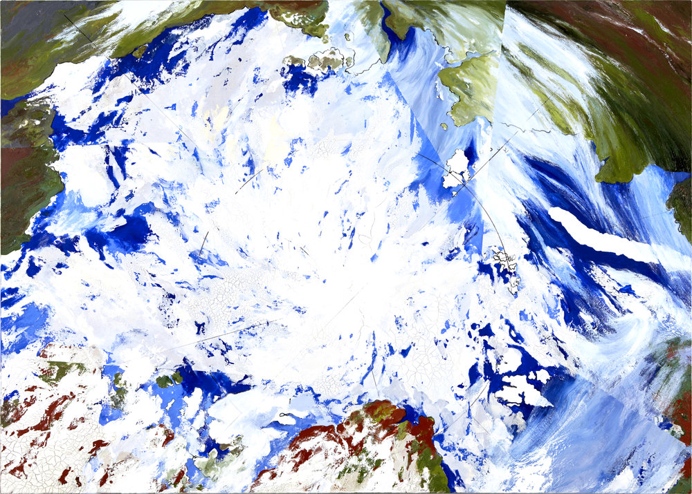 Arctic Melting, July 2016, 2