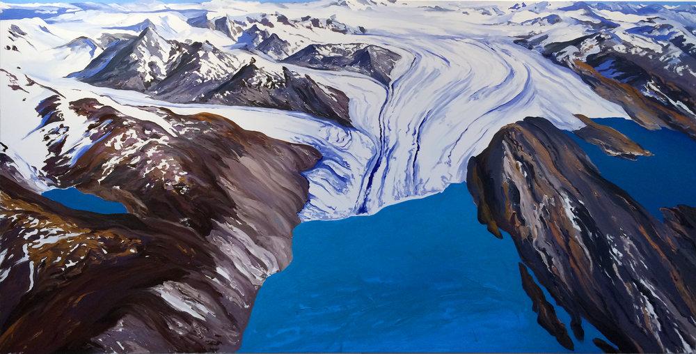 Upsala Glacier Aerial