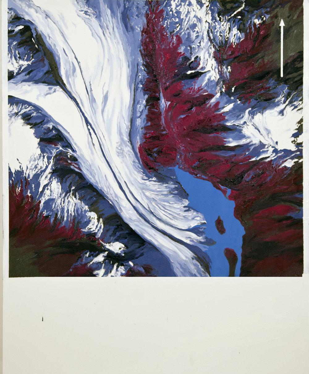 Bear Glacier 1984 AHAP Aerial USGS
