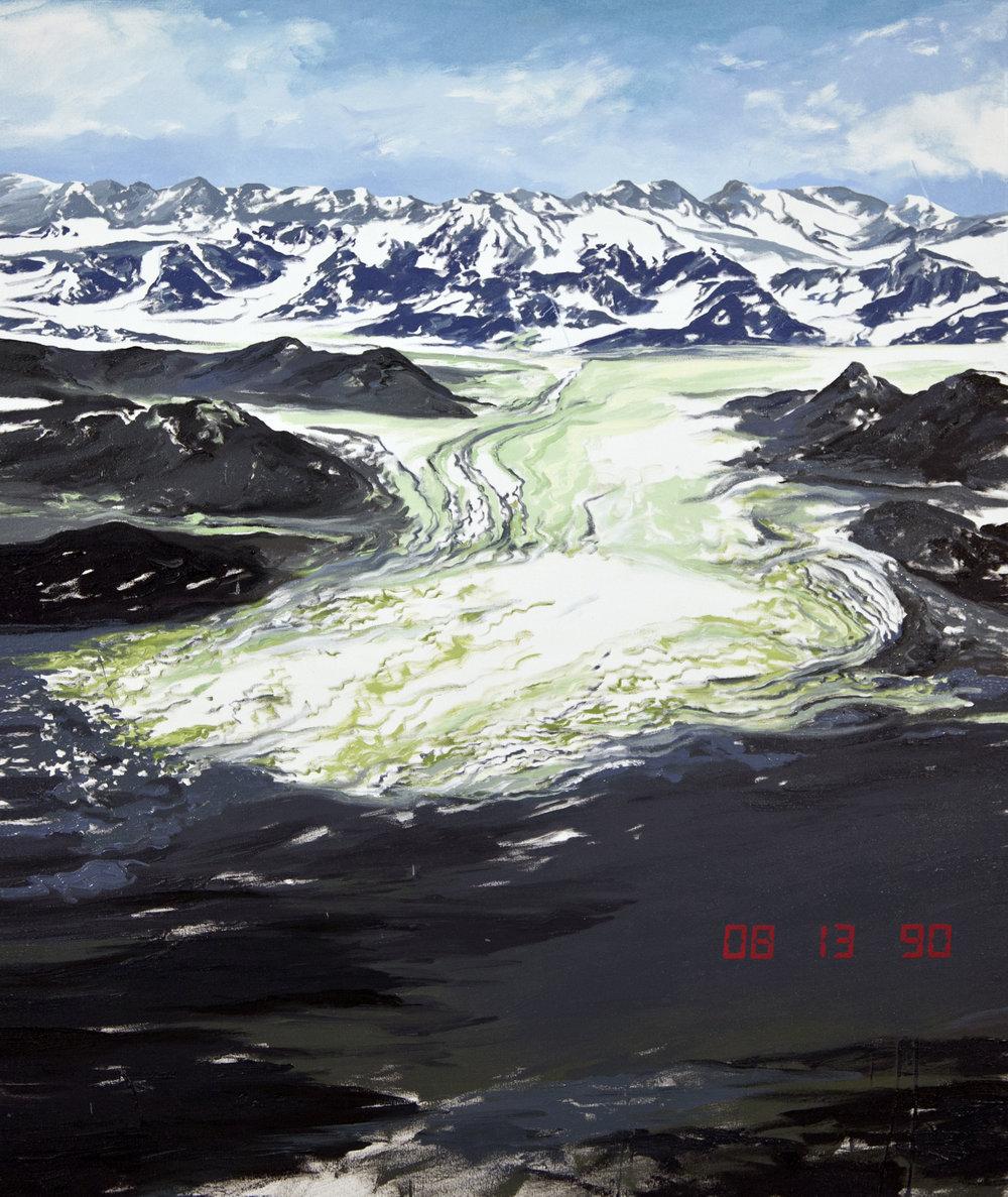 Columbia Glacier 4, 1990 USGS